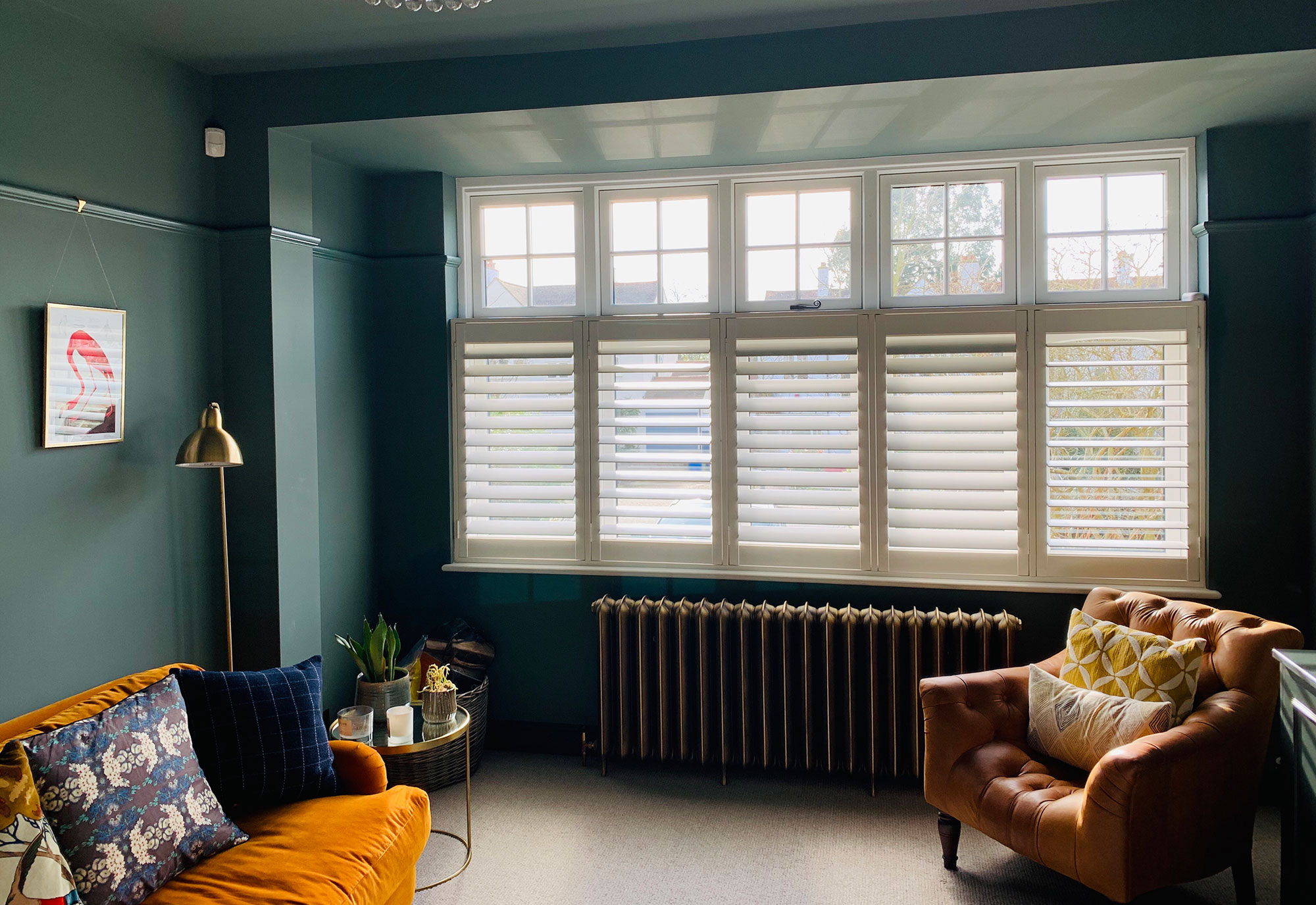 Cafe Style Shutters Made To Measure Window Shutters