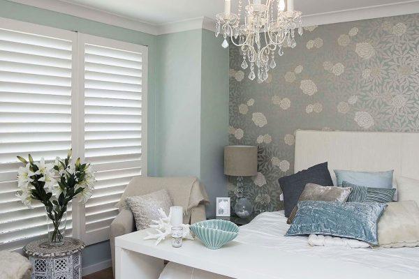 shutter blinds bedroom